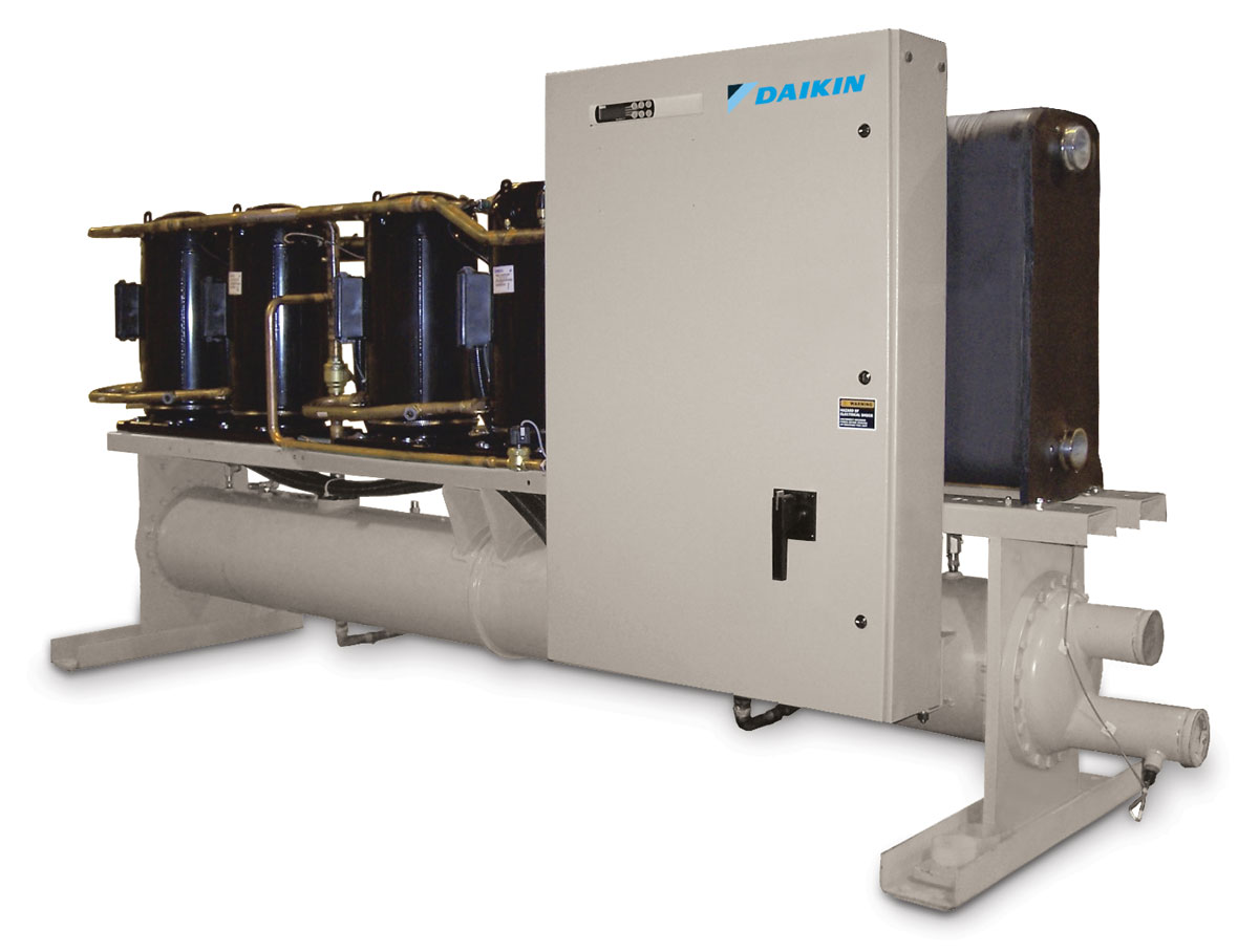 Water-Cooled Scroll Compressor Chiller WGZ