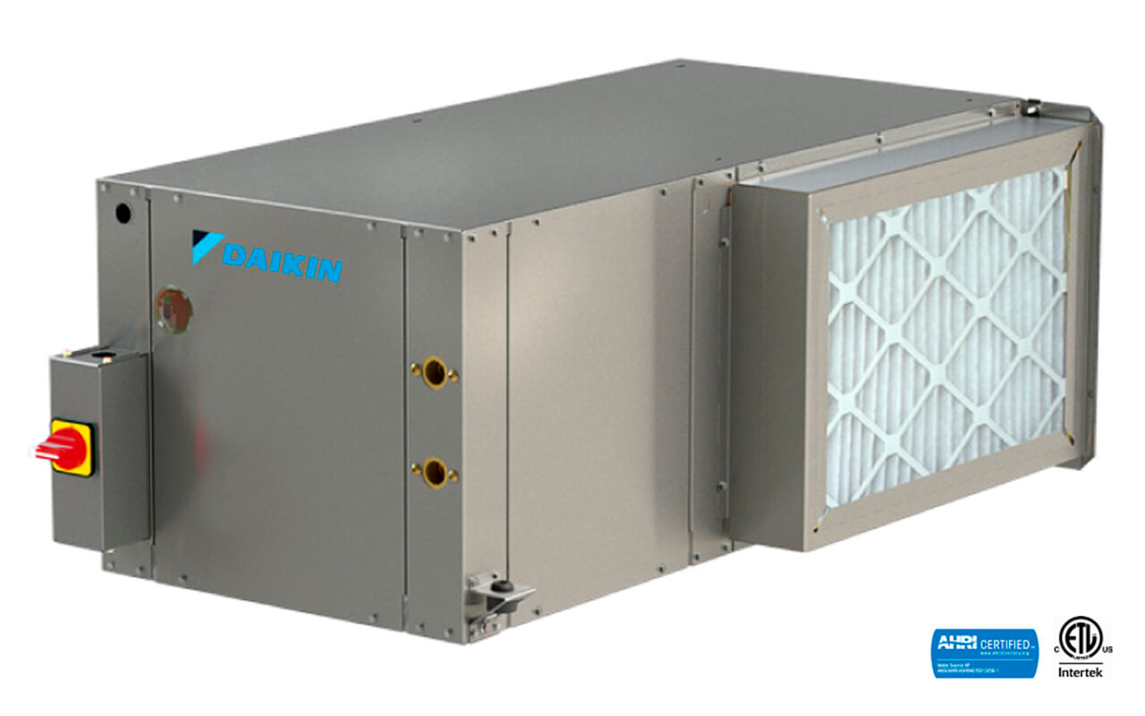 SmartSource® Compact Horizontal Water Source Heat Pump | Model WGCH- Single Stage & Model WGDH- Two Stage15396