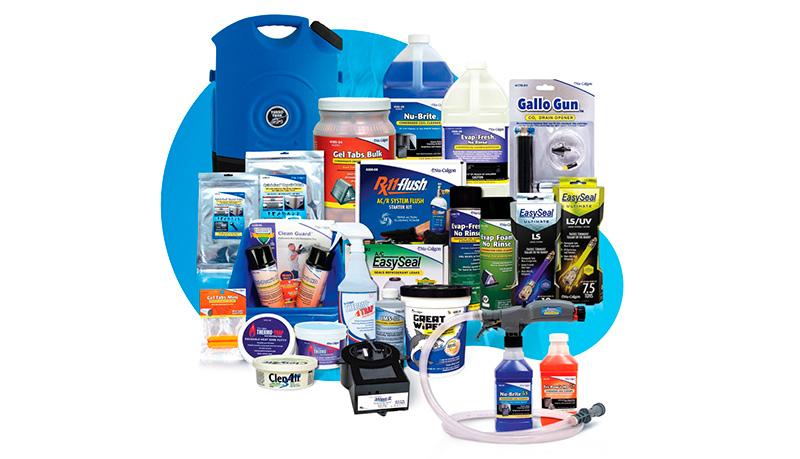 Partes y productos de desinfección